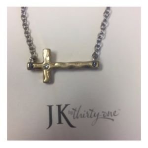 Whisper Cross Necklace - JK by Thirty-One!